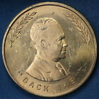 "1952 ""Back Ike"" Dwight Eisenhower Have a Good Congressman Bob McCollum Medallion"