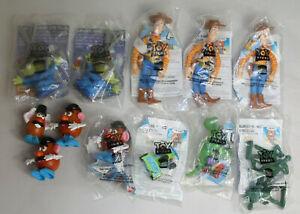 Lot of 12 Vintage Toy Story Toys 1995 Burger King Kids Club NIP