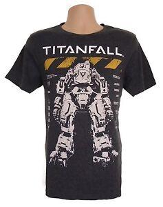 Men's Titanfall T-Shirt Atlas Medium Grey