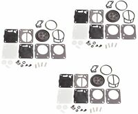 Mikuni Super BN Triple Carburetor Rebuild Kit Polaris SL SLT 650 750 780 785