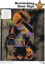 Bewitching Door Sign / Sweetheart Baskets plastic canvas patterns