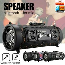 More details for wireless bluetooth portable speakers stereo radio super bass ultra loud aux tf