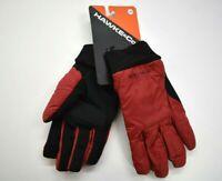 Hawke & Co Mens Red & Black Chili Pepper Style Winter Ski Snow Sport Gloves L/XL