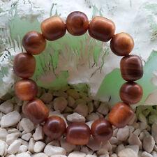 Marvelous 14 Beads Borneo Raja Kayu Bracelet Agathis Alba Dragon Blood Wood #05