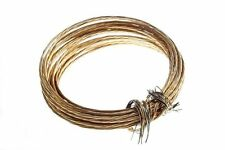 NEW BRASS PICTURE / MIRROR FRAME HANGING WIRE  12KG BREAKWEIGHT    ( 2 X 6M roll