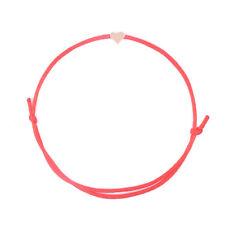 2018 Lucky Golden Cross Heart Bracelet For Women Children Red String Adjustable