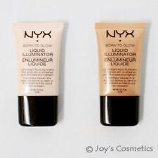Productos de maquillaje líquido NYX para el rostro