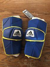 Adidas Freak Custom Lacrosse Armguards Size Xl Blue/Yellow Dn9870