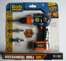 BOB THE BUILDER MECHANICAL DRILL CORDLESS SCREWDRIVER KIDS TOY NEW & SEALED