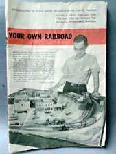 Introduction To Scale Model Railroading By Linn H. Westcott 1956