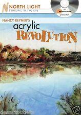 Nancy Reyner's Acrylic Revolution: Watercolor & Oil Effects DVD