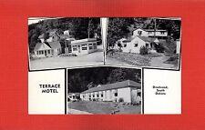 Deadwwod,Lawrence County,Sd South Dakota Terrace Motel 3 mini views 1 postcard