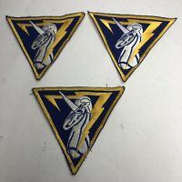 "Seventh Cadet Squadron - ""Samurai Seven"" / ""Shadow Seven"" Patches Lot of Three"