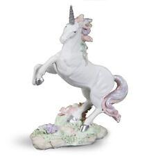 Widdop Unicorn Magic Collection - Rearing Unicorn Figurine Ornament Gift Glitter