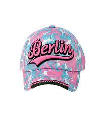 ROBIN RUTH Basecap Berlin Camouflage Pink Blau NEU/OVP Girls Cap Kappe Mütze