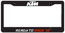 NEW KTM CAR / TRUCK LICENSE PLATE FRAME (METAL) UPW1871110