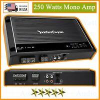 NEW Rockford Fosgate Prime R250X1 250 Watts Mono Amplifier Class A/B 1 Channel