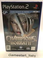 CHAMPIONS OF NORRATH - SONY PS2 - VIDEOGIOCO NUOVO SIGILLATO - NEW SEALED PAL