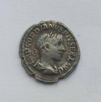 ANCIENT ROMAN SILVER DENARIUS GORDIAN III /238-244 AD/