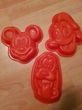 Silikonform Mickey MouseBackform Tortendekor BackenBackzubehör Kuchendekor Neu