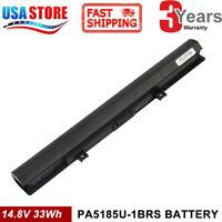 for Toshiba PA5185U-1BRS PA5186U-1BRS Laptop Battery PA5184U-1BRS C55 C55D 4Cell