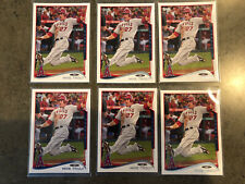 20 Card Lot - 2014 Topps #1 & 2015 #300 Mike Trout