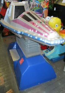 SPACE SHIP ROCKET SHIP RIDE NEEDS WORK  Shipping Available