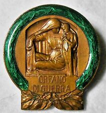 Distintivo D'Onore Orfano di Guerra Prima Seconda Africa Spagna