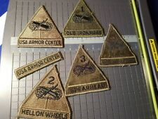 US ARMY 5  ARMORED DIVISION PATCH SEE STORE TON OF ARMY PATCHES --SEE PICS LOOK