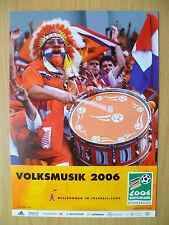 WORLD CUP 2006- VOLKSMUSIK 2006 (GERMANY 2006 DEUTSCHLAND): Sport Postcard