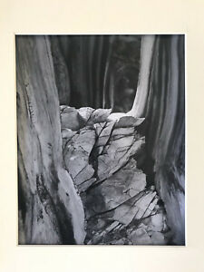"Austin Schermerhorn, Signed 8x10 Silver Gelatin Print ""Theatre of the Ancients"""