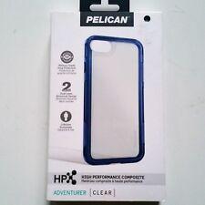Pelican Adventurer Case Apple iPhone 7, 8 Navy Clear MilitaryGrade New