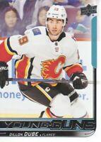 2018-19 Upper Deck Hockey #207 Dillon Dube YG RC Calgary Flames