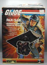 Vintage 1983 Outdoor Venture GI Joe PAK N SAK Sleeping Bag BOX Hasbro ARAH G.I.
