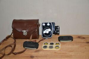Vintage movie camera EKRAN-3 8mm 196Xs USSR Working