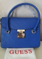 GUESS BOBBI REVERSIBLE PYTHON AND DENIM 4G LOGO SHOULDER SHOPPER BAG 3 in 1 £99