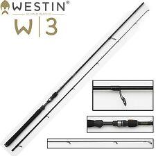 Westin W3 Powershad 240 cm MH 15-40g Spinnrute für Barsch, Zander und Hecht