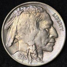 1929 Buffalo Nickel CHOICE BU FREE SHIPPING E240 JEL