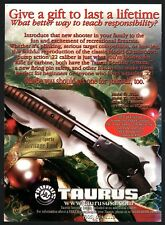2001 TAURUS Model 62 Pump Action .22 Rifle AD