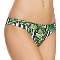Red Carter 259958 Women Havana Leaf hipster Bikini Bottoms Swimwear Size X-Small
