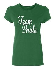 TEAM BRIDE wedding gift bridal party bridesmaids Women's T-shirt