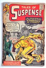 TALES OF SUSPENSE 41 1963 3RD APPEARANCE OF IRON MAN BEAUTIFUL VG+ DR.STRANGE