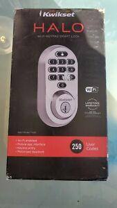 Kwikset Halo WiFi Keypad Smart Lock Deadbolt 938WIFIKYPD11PS 99380-001 smart key