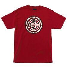 Independent Trucks Tc Blaze Skateboard Shirt Cardinal Red Xxl