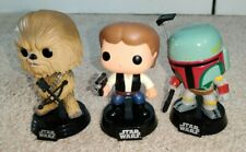 Funko Pop! X3 Star Wars: Han Solo / Chewbacca / Bobba Fett