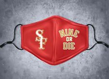 Nine or Die Face Mask Cover Limited Edition Niner Empire SF Niners Free Shipping