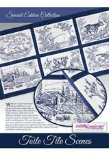 Anita Goodesign Special Edition Toile Tile Scene Embroidery Design CD NEW 19AGSE