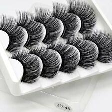 SEXYSHEEP 5Pairs 3D Mink Hair False Eyelashes