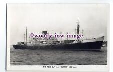cb0917 - Federal Steam Nav Cargo Ship - Surrey - postcard plain back