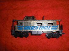 Vintage Tyco Golden Eagle Caboose HO Scale Circa 1980